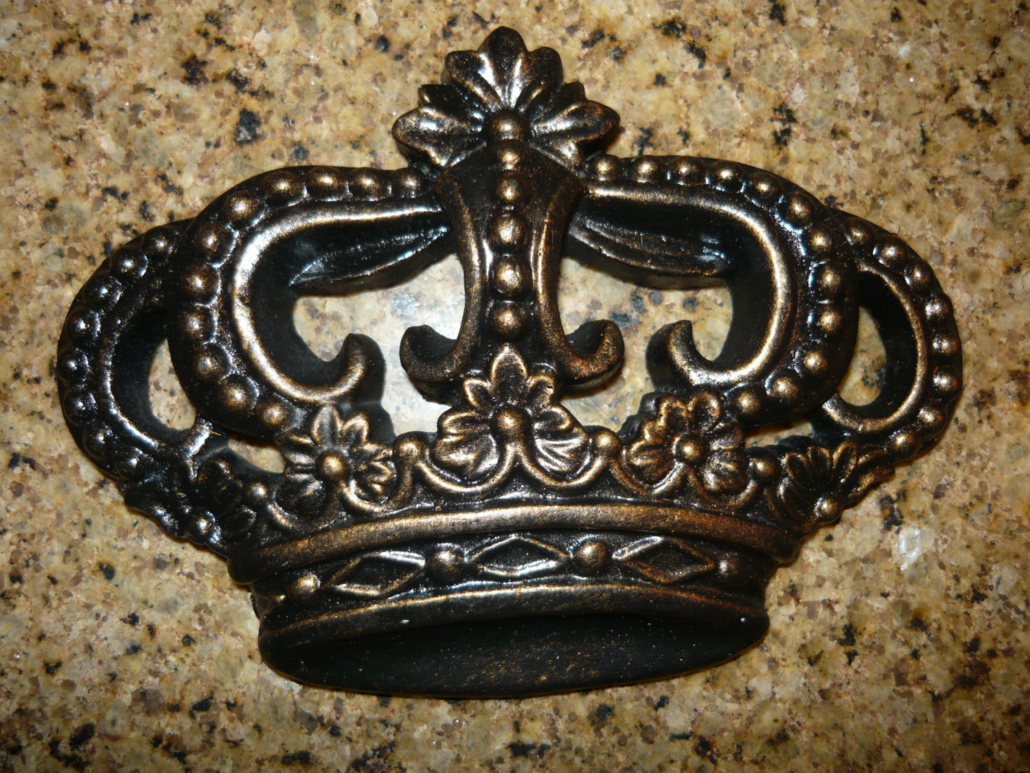 Set of 3 royal crown wall plaques wall decor old world medieval set of 3 royal crown wall plaques wall decor old world medieval tuscan style queen king princess decor hand made and painted amipublicfo Choice Image